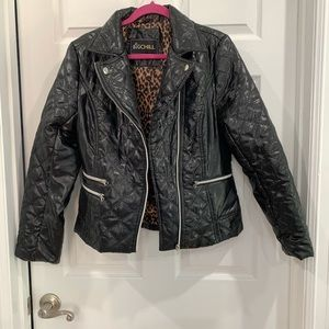 BIG CHILL Quilted Black Puffer Jacket, size L